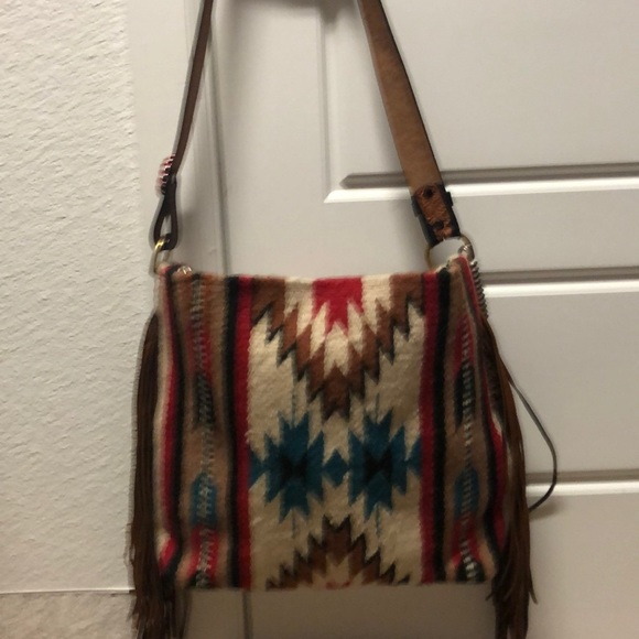 Handbags - Custom large saddle blanket tote